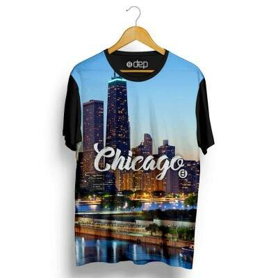 Camiseta Dep Chicago Azul