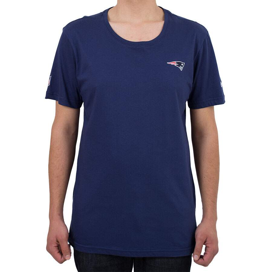 Camiseta New Era England Patriots Mini Logo Marinho