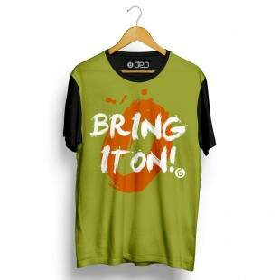 Camiseta Dep Bring It On Verde