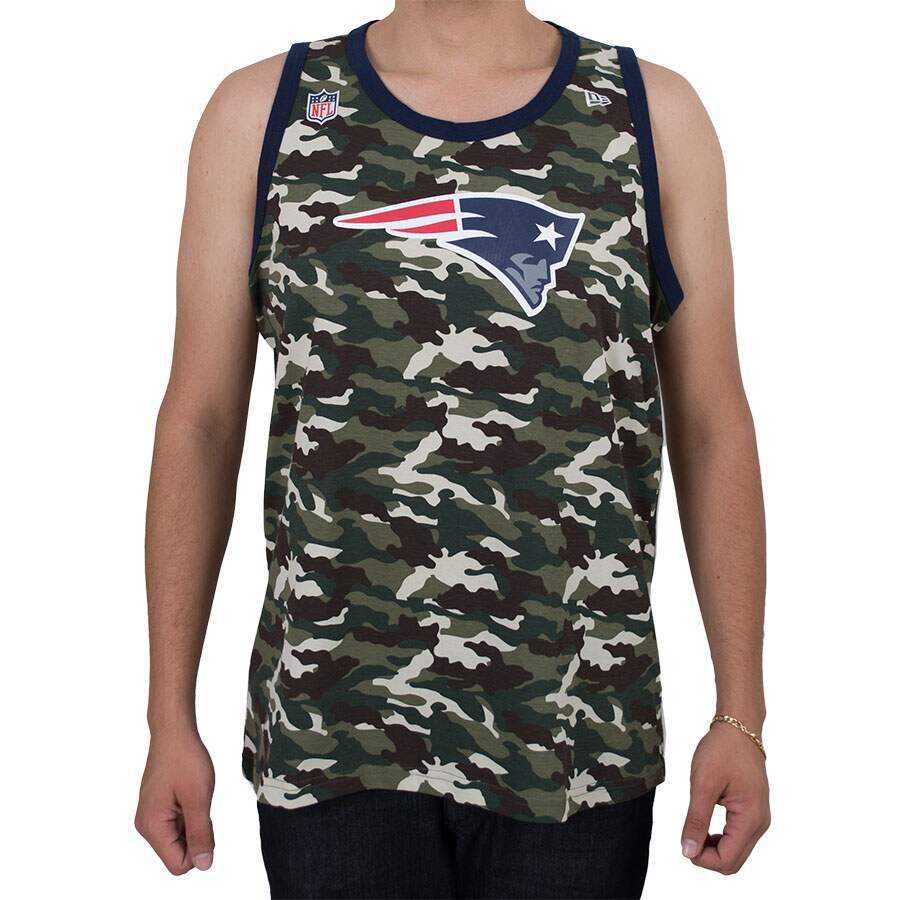 Regata New Era England Patriots Camu Verde