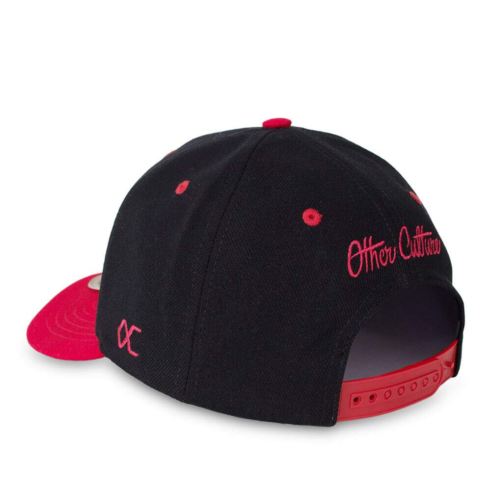 Boné Other Culture Snapback Bad Angel Aba Curva Preto