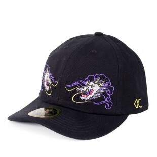 Boné Other Culture Strapback Dragon Glass Aba Curva Preto