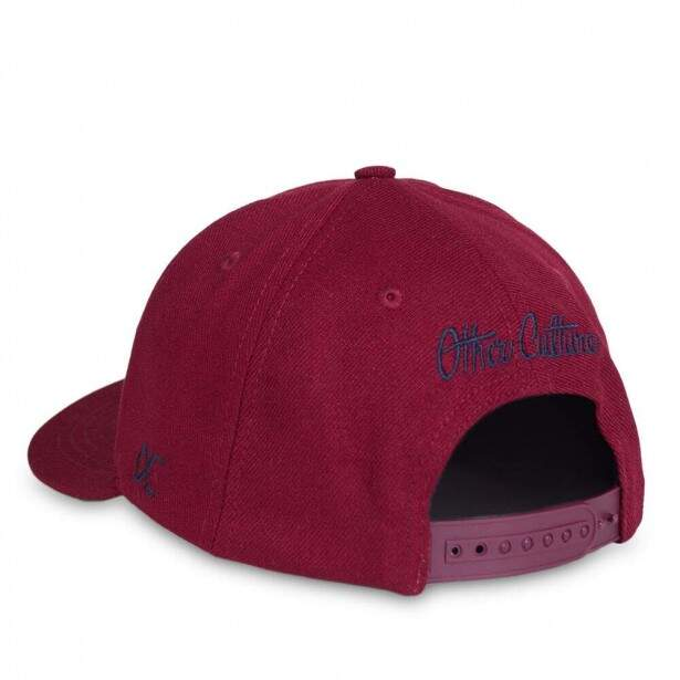 Boné Other Culture Snapback Strip Aba Curva / Vinho
