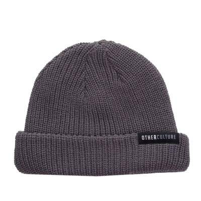 Gorro Other Culture Classic Cinza