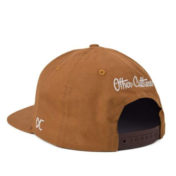 Boné Other Culture Snapback NYC Caramelo