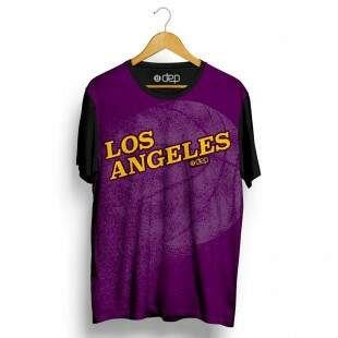 Camiseta Dep Los Angeles Roxa