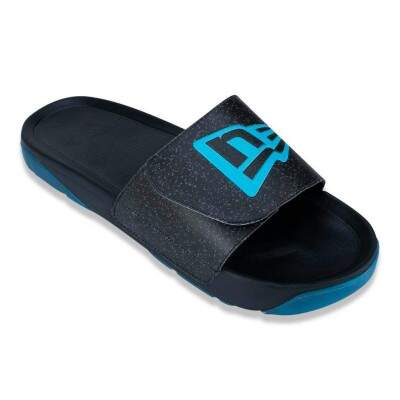 Chinelo New Era Slip-on Branded Preto / Azul