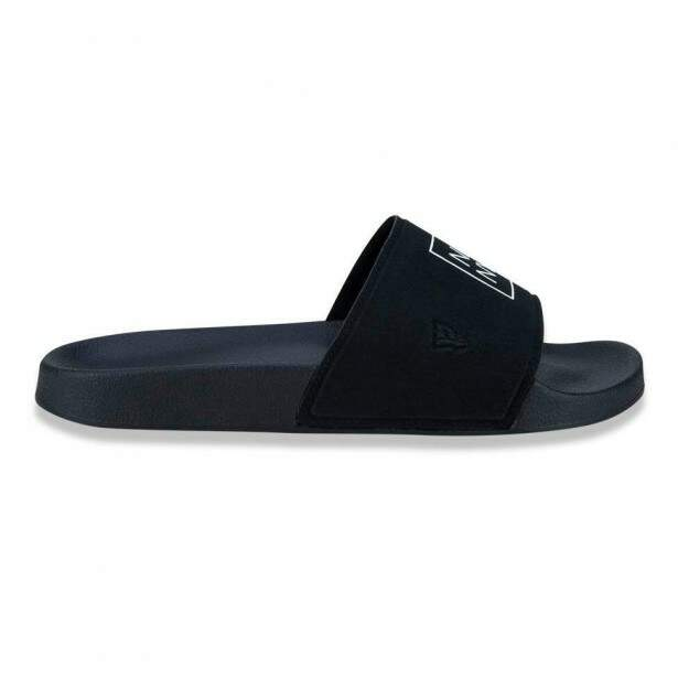 Chinelo New Era Slide NYC Preto