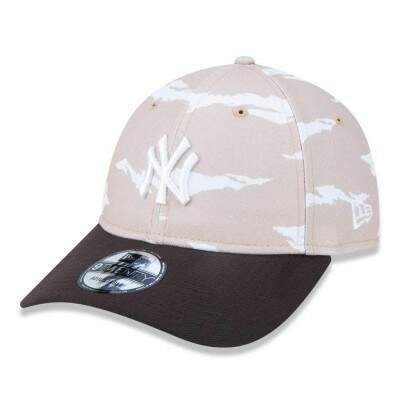 Boné New Era Strapback New York Yankees 9Twenty Bege