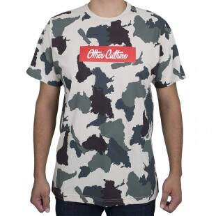 Camiseta Other Culture Camo Bege