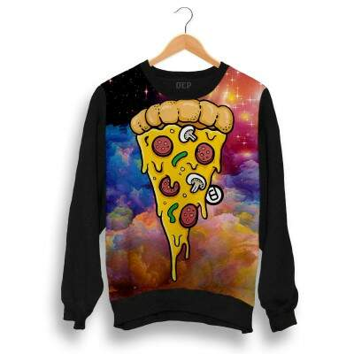 Blusa Dep Pizza Multicolorida