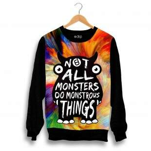 Blusa Dep Monstrous Multicolorida