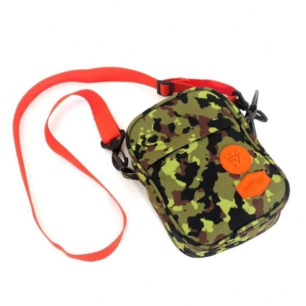 Shoulder Bag Seven Brand Verde Camuflada