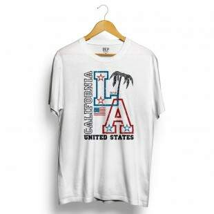 Camiseta Dep Los Angeles Branca