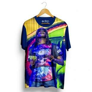 Camiseta Dep Snoop Dogg Marinho