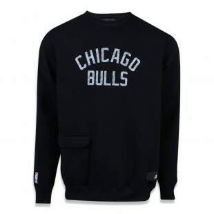 Moletom New Era Chicago Bulls NBA Preto