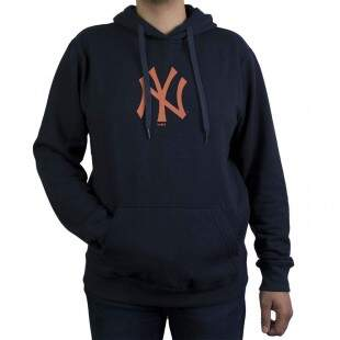 Moletom New Era New York Yankees MLB Capuz Marinho