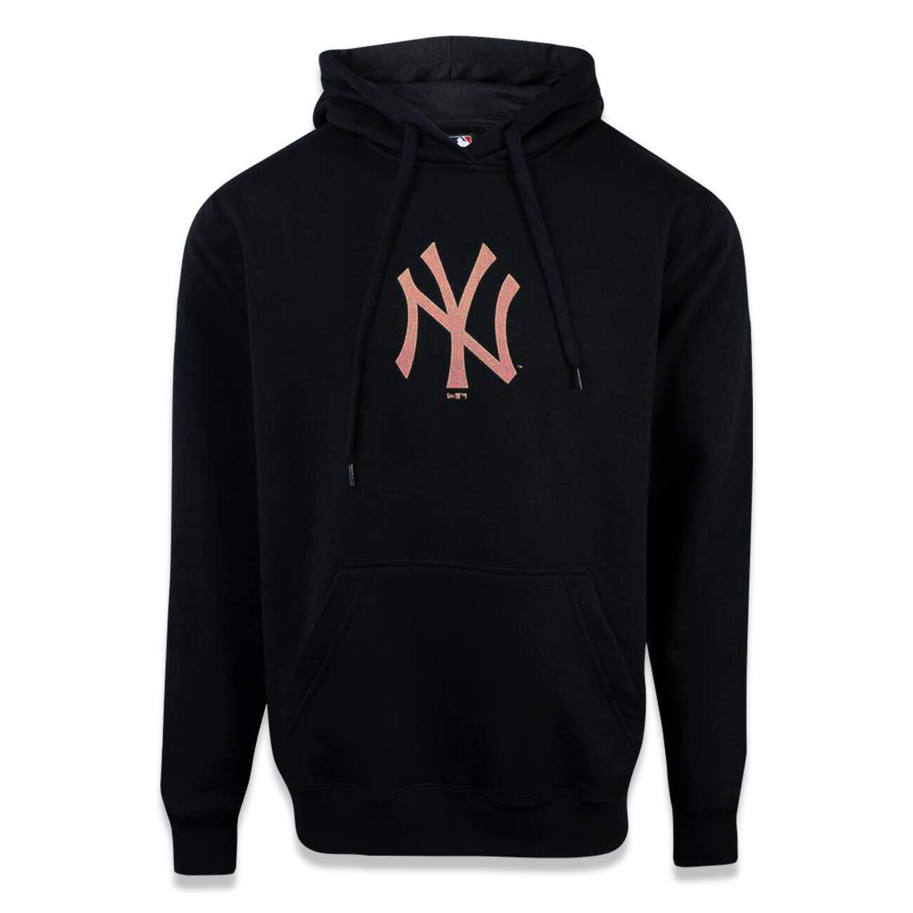Moletom New Era New York Yankees MLB Capuz Preto