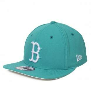 Boné New Era Snapback Boston Red Sox Original Fit Azul