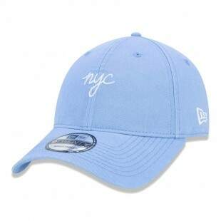 Boné New Era Strapback Mini NYC Aba Curva Azul