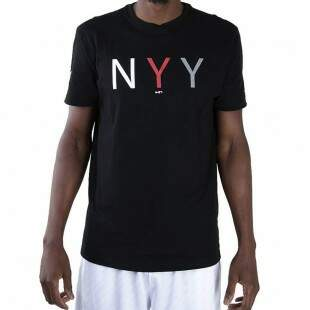 Camiseta New Era New York Yankees MLB NYY Preta