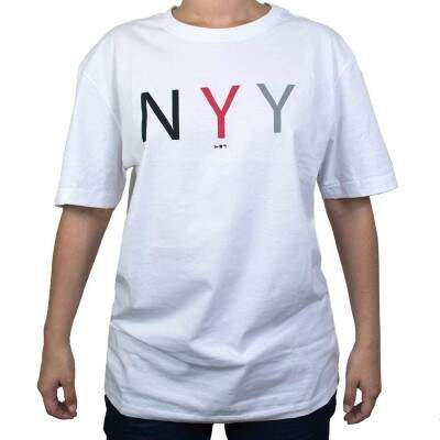 Camiseta New Era New York Yankees MLB NYY Branca