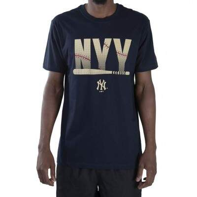 Camiseta New Era New York Yankees MLB Marinho