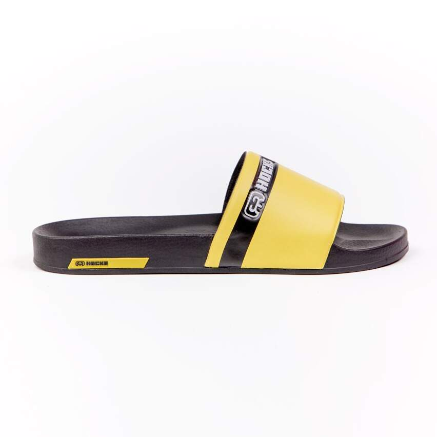 Chinelo Slide Hocks Amarelo / Preto