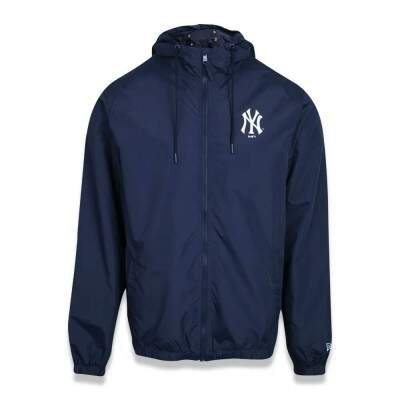 Jaqueta New Era New York Yankees Windbreak MLB Marinho