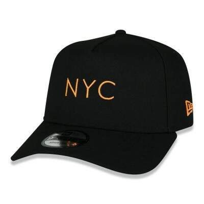 Boné New Era Snapback NYC 9Forty A-Frame Preto