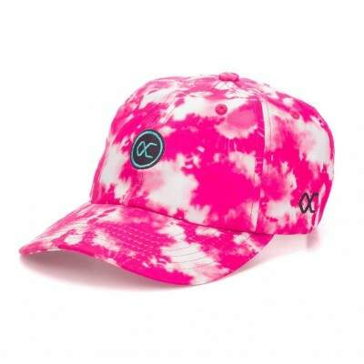 Boné Other Culture Strapback Logo Rosa