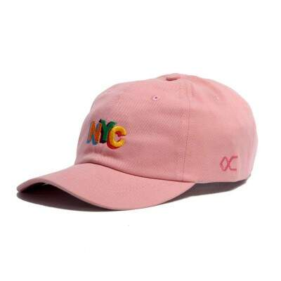 Boné Other Culture Strapback NYC Rosa Colors