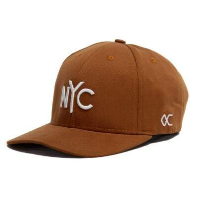 Boné Other Culture Strapback NYC Marrom