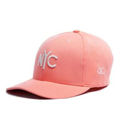 Boné Other Culture Snapback NYC Rosa