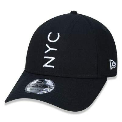Boné New Era Snapback NYC Preto