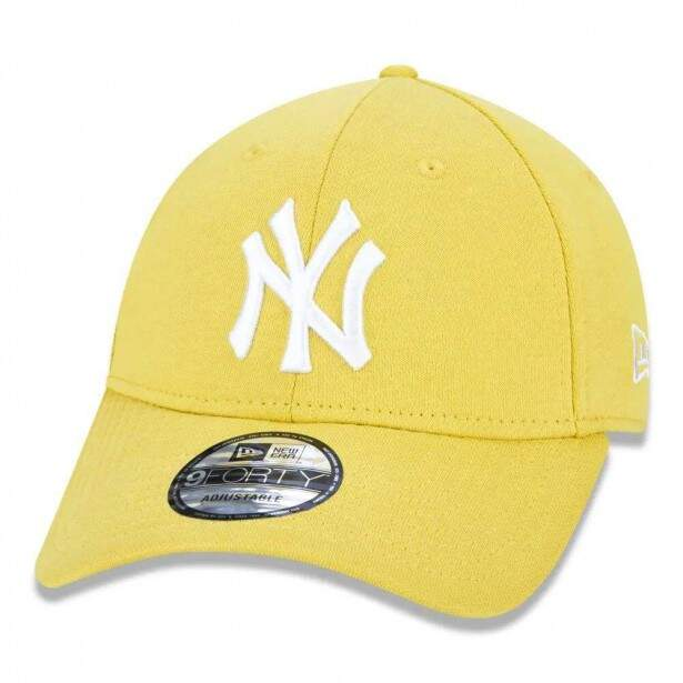 Boné New Era Strapback New York Yankees Colors Amarelo