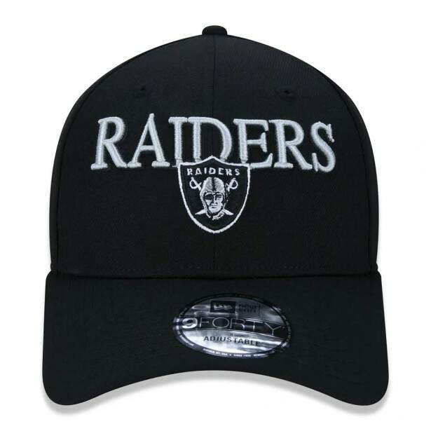 Boné New Era Snapback Oakland Raiders NFL Preto