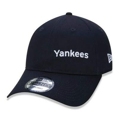 Boné New Era Strapback New York Yankees Preto
