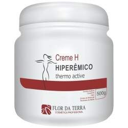 Creme H Hiperêmico Thermo Active - Redutor de Medidas e Celulite 500g