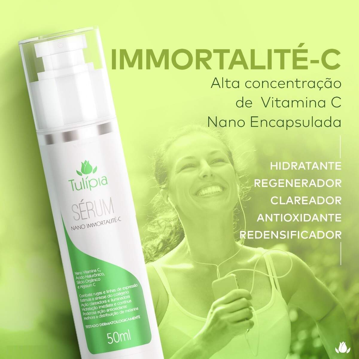 Nano Sérum - Immortalité C 50 ml