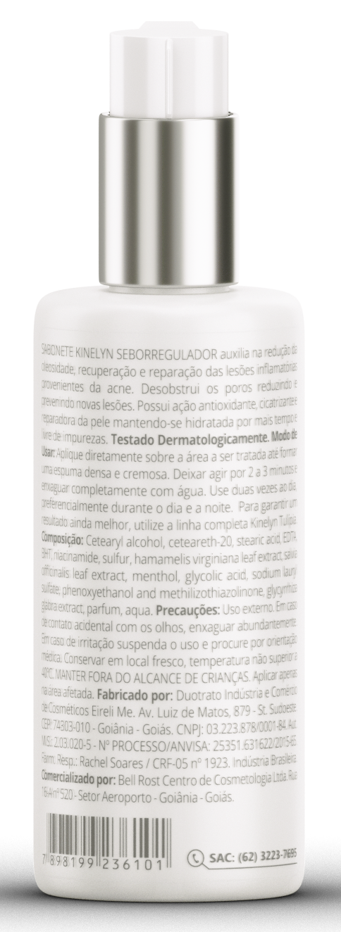 Sabonete Seborregulador Kinelyn 110ml