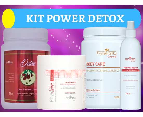 Kit Power Redux Detox