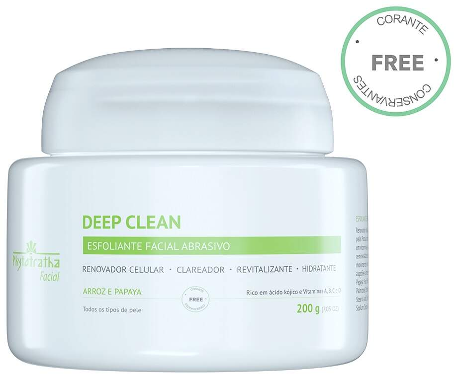 Esfoliante  Facial Abrasivo - Deep Clean 200g