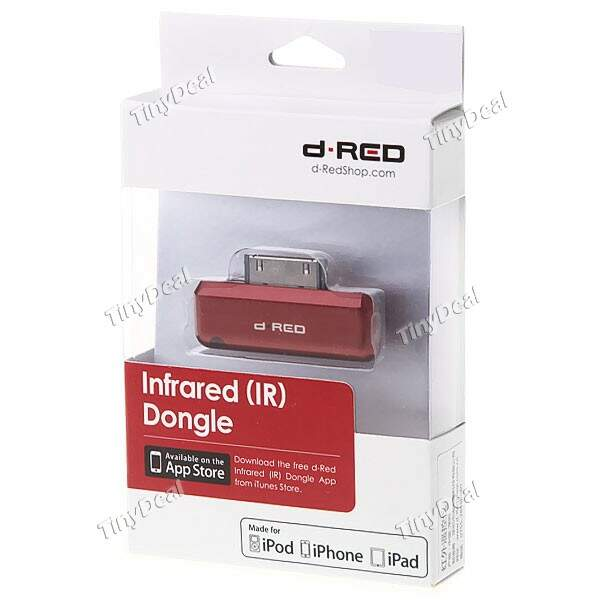 Controle Dongle Infrared Remote para a Apple iPad, iPod iPhone
