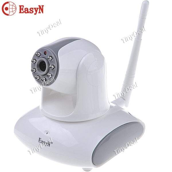 (EasyN) Tilt Wireless WiFi LED IR Camera IP 1/4 \\\