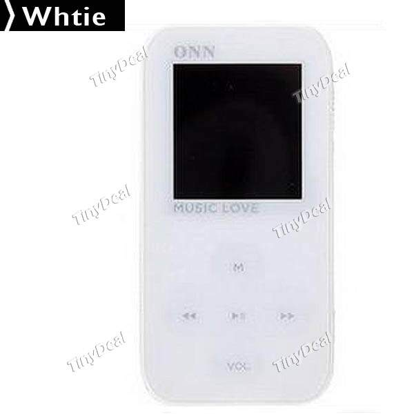 LCD 4GB MP4 Player Media Player com E-book / Gravador de Voz / FM