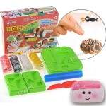DIY SuShi Modeling Clay 4 Color Soft Clay Set