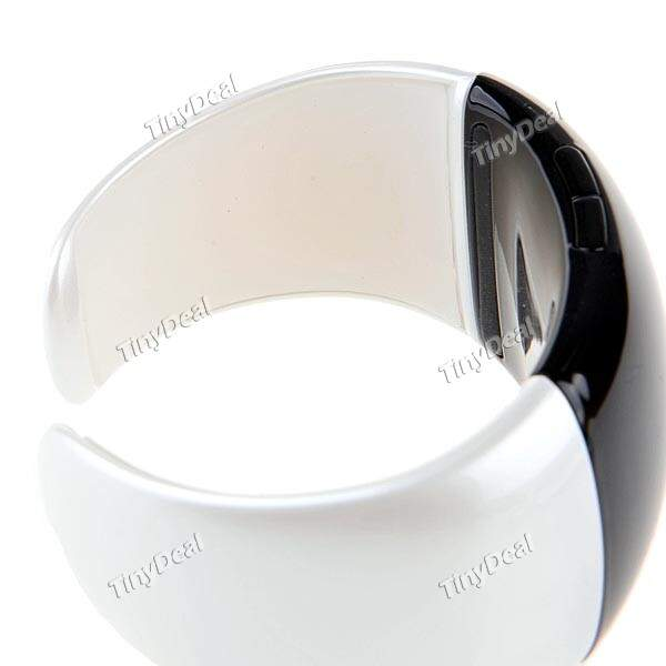 Bluetooth Vibrating Bracelet moda com a Time Exibindo