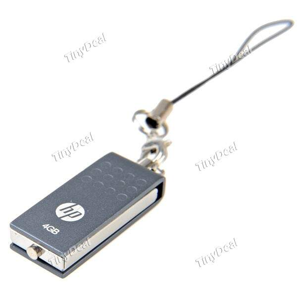 (HP) V115W/V115P 4GB Memória USB Flash Drive Mini Memory Disk U para PC Laptop