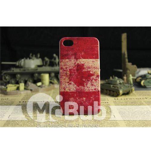 Nova Marca Caso Bandeira Country For iPhone4/4S Cor Mix